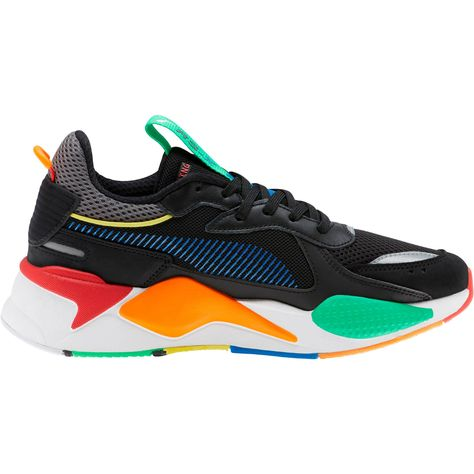 PUMA Rs-X Bold Trainers in Black/Andeantoucan/Orapopsicle size 10.5