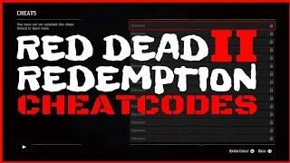 NEW* RED DEAD REDEMPTION 2 CHEAT CODES ALL FOUND SO FAR PS4 AND XBOX