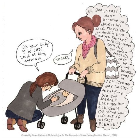 10 Refreshingly Honest Comics About The Scary Thoughts New Moms Have
