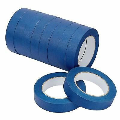 Lichamp 10 Piece Blue Painters Tape 1 Inch Blue Masking Tape Bulk Multi Pack 1 Ebay In 2020 Painters Tape Masking Tape Tape