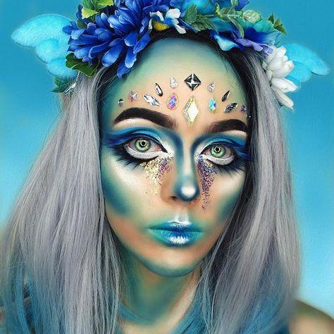 Halloween Makeup : (notitle)