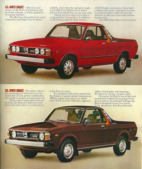 1980 Subaru Brat   subaru brat   Classic japanese cars, Japan cars
