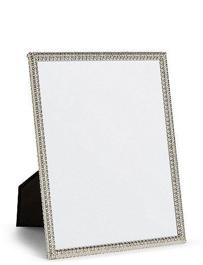 Angelica Sparkle Photo Frame 20 X 25cm 8 X 10 Inch Marks Spencer London Photo Frame Frame Photo Frames