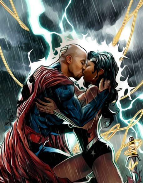 This Love #undeniable #unconditional #indivisible #invulnerable #superlove #edit #superman #wonderwoman ❤   via  9d2ink #superman#wonder woman#superman/wonder woman#love#couples#art#relationship goals#DC comics#power couple#homage