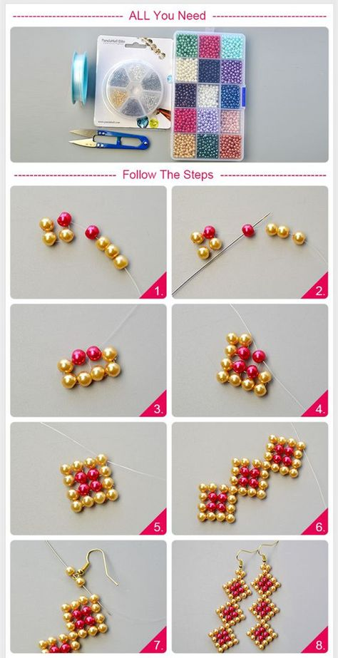 Best Seed Bead Jewelry 2017 Schema from pinner for celebration Brick Stitch earrings Seed Bead Tutorials Source by vildandikmenBeaded beads tutorials and patterns, beaded jewelry patterns, wzory bizuterii koralikowej, bizuteria z koralikow - wzory i