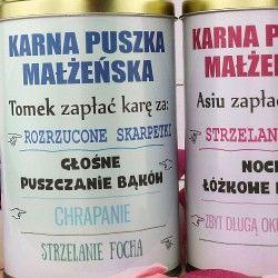 Karne Skarbonki Z Personalizacja Personalized Items Diy Wedding