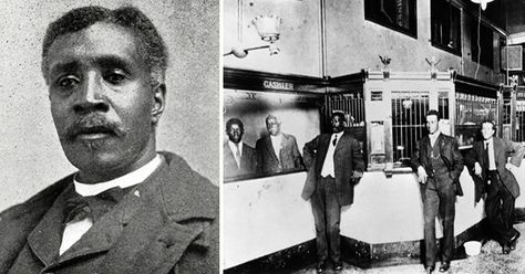 William Washington Browne, founder of first black-owned bank. | The Founder Was Once A Slave!