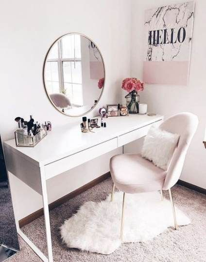 48 Most Popular Makeup Vanity Table Designs 13 Vidur Net Bedroom Desk Bedroom Desk Chair Ikea White Chair