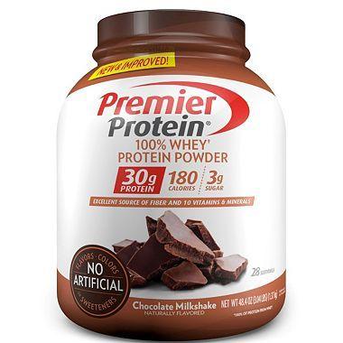 Premier Protein Whey Powder Chocolate Milkshake 3 Lbs Whey