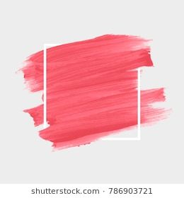 Logo Brush Painted Watercolor Background Art Abstract Brush Paint
