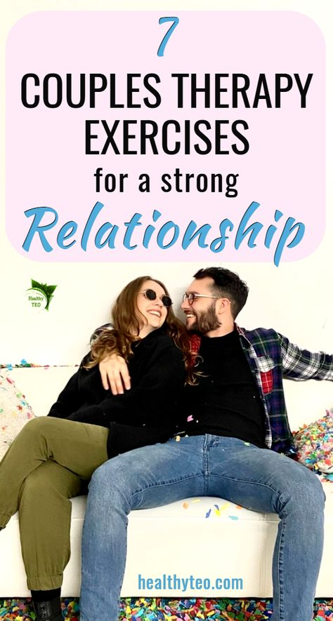 Couples therapy exercises that will help you to improve your relationship. These exercises and tips are good if you want stronger connection with your partner and a healthier relationship. New Relationship Quotes, Relationship Therapy, Healthy Relationship Tips, Relationship Challenge, How To Improve Relationship, Successful Relationships, Strong Relationship, Relationship Problems, Healthy Relationships