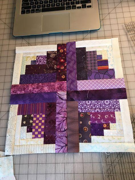 Curved Log Cabin Quilt Crochet Spiration Log Cabin Quilt Pattern Log Cabin Quilt Blocks Log Cabin Quilt