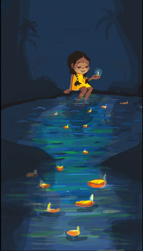 Diwali by PreethaMahendran on Etsy, $25.00