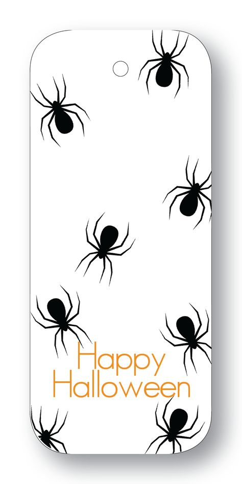 "Spiders ""Happy Halloween"""