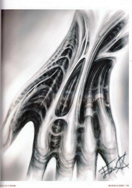 Pin By Josh Perrine On New Art Jp Biomechanical Tattoo Bio Organic Tattoo Biomechanical Tattoo Design