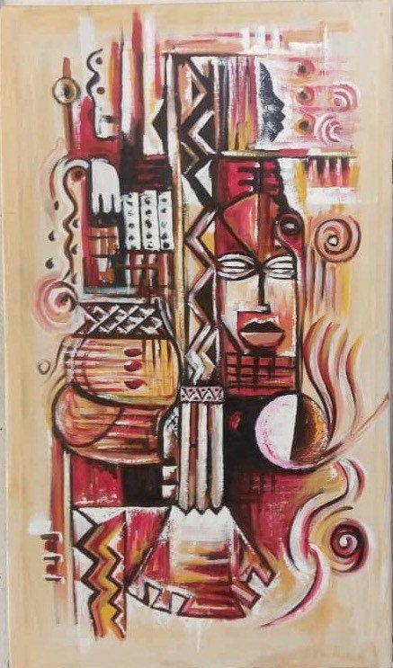 African Art Painting African Art Shop Popular Hand Made Decor Birds Art Art Gallery Authentic African Tribal Art African Wall Decor Art In 2020 African Art Paintings African Art African Wall Art