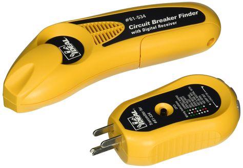Ideal 61 534 Digital Circuit Breaker Finder With Digital Receiver And Gfci Circuit Tester Digital Circuit Gfci Breakers