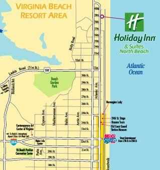 Virginia Beach North Beach Holiday Inn Resort Virginia