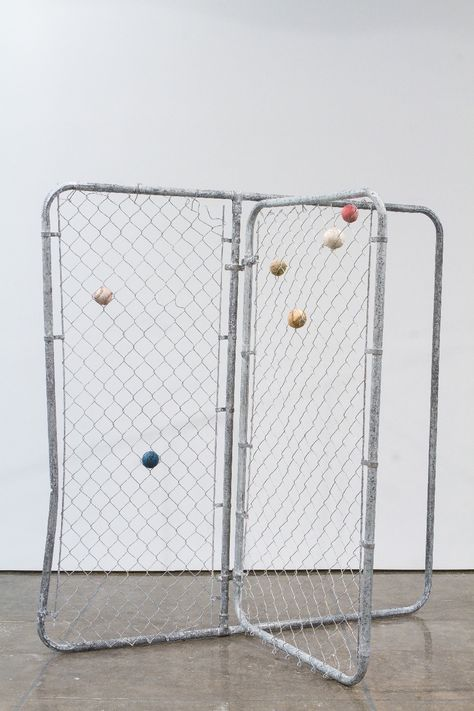 Evan Robarts' Manipulation of Found Objects