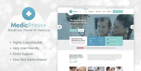 MedicPress - Medical WordPress Theme for Clinics and Private Doctors - ThemeKeeper.com