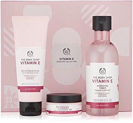 Amazon Com The Body Shop Vitamin E Skincare Collection Gift Set Beauty Body Shop Vitamin E The Body Shop Body Shop Skincare