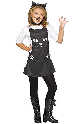 723c3b44944 cute cat halloween costumes - Girls Feline Chic Cat Costume size ...