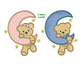Baby ABC teddy Bear embroidery design boy embroidery design machine embroidery pattern file instant download bear embroidery boy design