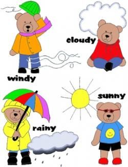 Bear Weather Clipart Transparent 53 88kb 268x350 Teaching Weather Toddler Activities Bear Clipart