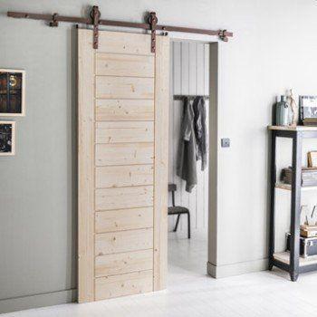porta scorrevole esterno muro leroy Merlin Binini Pinterest - kit pour porte coulissante placard