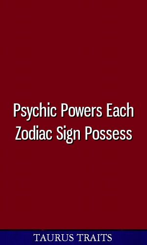 Psychic Powers Each Zodiac Sign Possess #zodiac #aries