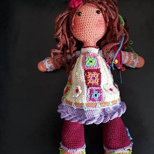 Crochet Pattern For Doll Yuna Pdf Deutsch English Nederlands