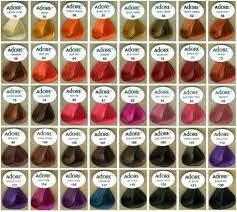 Image Result For Unnatural Hair Dye Color Chart With Images