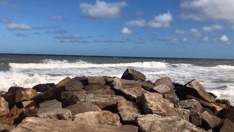"🤍's Instagram video: ""😍 #photography #photo #beach #nature #ocean #sea #sand #water #sky #video #miramar #argentina #landscape"""