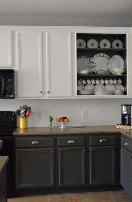 Kitchen Cabinets Color Combination, Kitchen Cabinet Paint Design Ideas