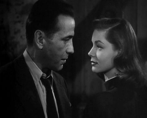 Bogart & Bacall, The Big Sleep, 1946