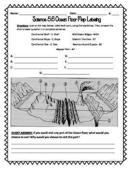 37++ Oceanography worksheets for 5th grade Images