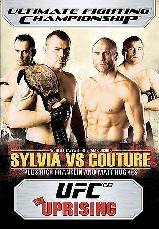Ufc 68 The Uprising Dvd 2007 Ufc Ufc Events Ufc Heavyweight Champion