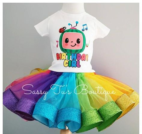1st Birthday Tutu, First Birthday Party Themes, Rainbow Birthday, Birthday Party Outfits, Little Girl Birthday, Birthday Ideas, Kids Tutu, Tutus For Girls, New Halloween Costumes