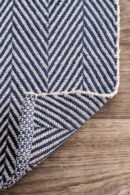 Rugs Usa Gray Chalet Herringbone Cotton Flatwoven Rug Autumn Harvest Rectangle 5 X 8 Rugs Rugs Usa Orange Rugs