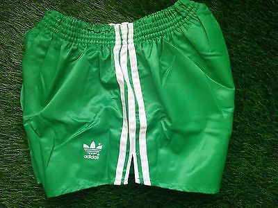 Details about VINTAGE 1980s '80s ADIDAS NYLON SILK SOCCER SHORTS BLACKWHITE LARGE SIZE RARE!