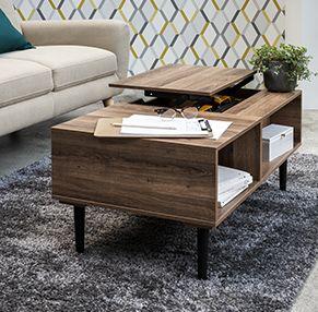 Meubles Et Deco Au Style Industriel Gifi Mobilier De Salon Mobilier Meuble Deco