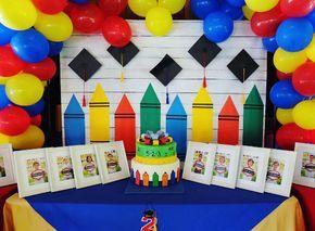 Como Celebrar Tu Graduacion De Kinder Temas De Fiesta De