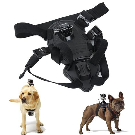 Yunt Hound Dog Fetch Harness Chest Strap Belt Mount For Gopro Hero