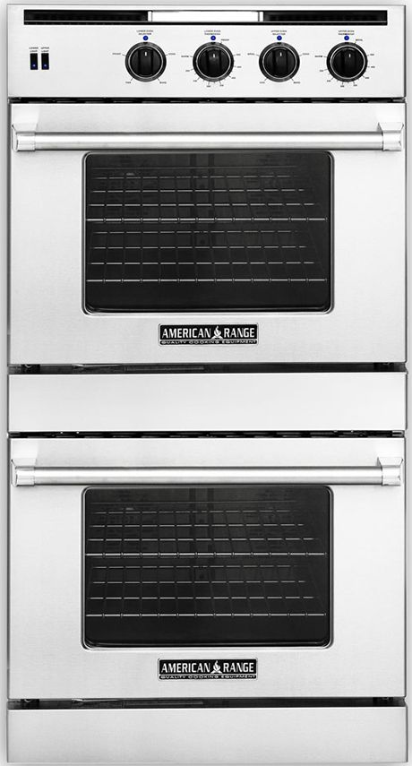 Legacy Hybrid Double Deck Wall Ovens From American Range Gas