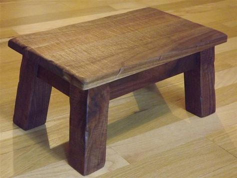 Enjoyable Solid Walnut Rustic Reclaimed Wood Farmhouse Stool Andrewgaddart Wooden Chair Designs For Living Room Andrewgaddartcom