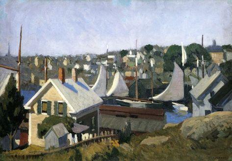 Gloucester Harbor by Edward Hopper - 1912