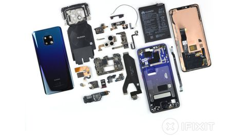 Diy Repairs A Challenge For Huawei Mate 20 Pro Smartphone Repair Huawei Mate Huawei