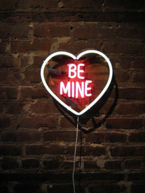 BE MINE Neon Sign Ready-made by MarcusConradPoston on Etsy