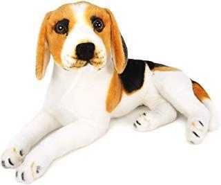 Viahart Brittany The Beagle 17 Inch Large Beagle Dog Stuffed