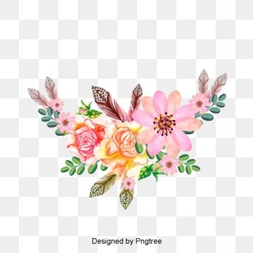 Red Hand Painted Watercolor Rose Flower Vine Roses Clipart Invitations 8 Png Transparent Clipart Image And Psd File For Free Download Floral Wreath Watercolor Pink Watercolor Flower Hand Drawn Flowers